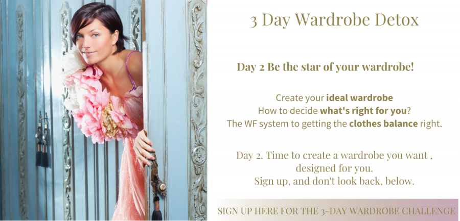 Day 2 - 3-day Wardrobe Detox Be the Star of your own show!
