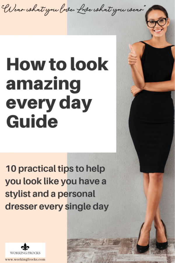 How to look amazing every day guide - front page