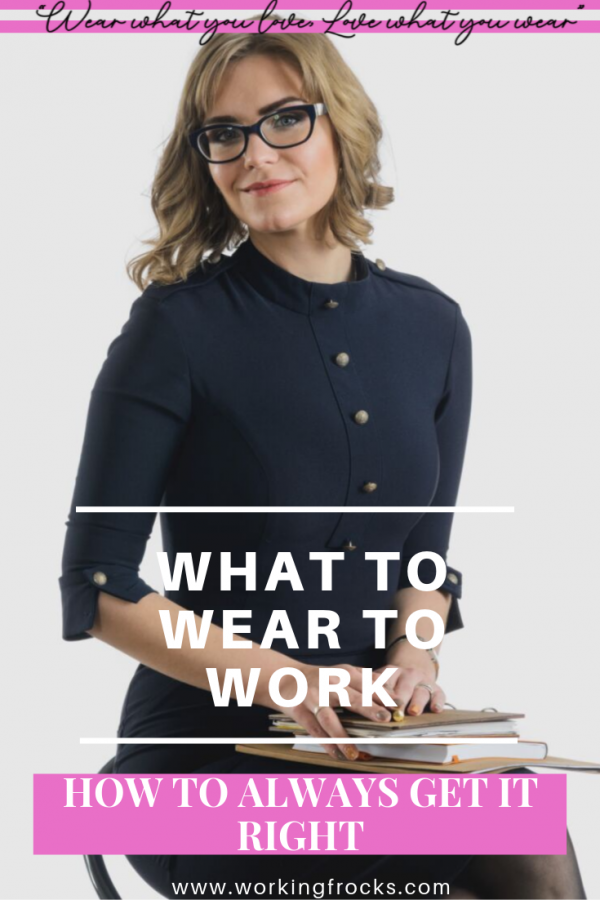 Woman in business dress looking confident