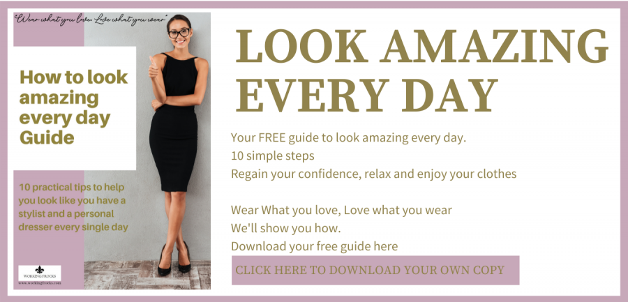 Text box to sign up for Look Amazing Every Day free guide