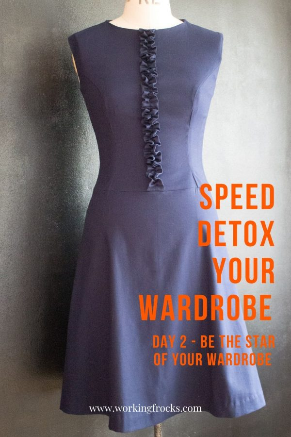 how to speed detox your wardrobe day 2