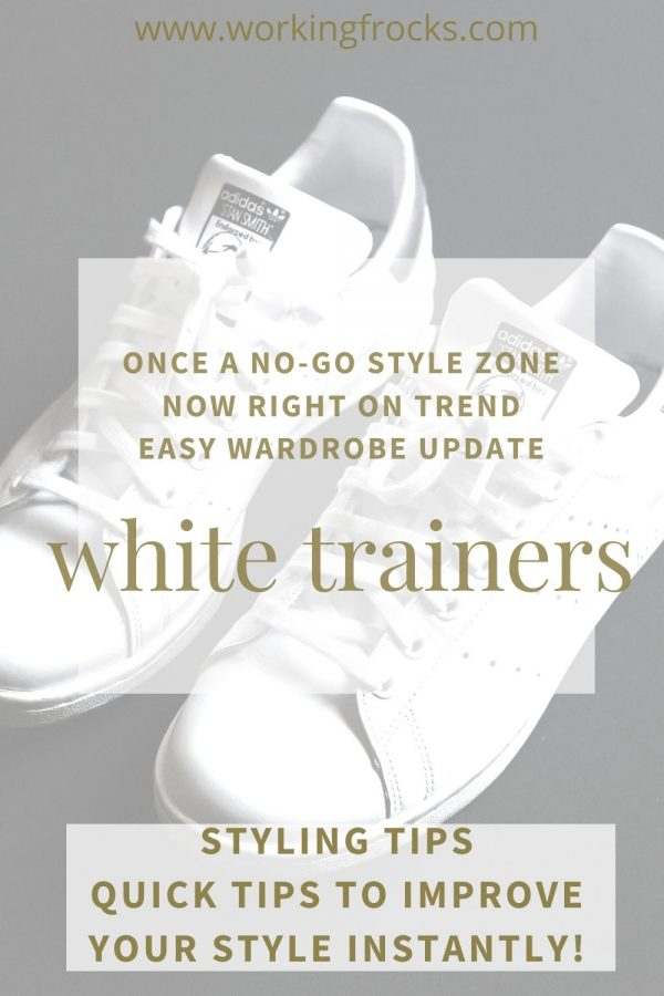 White Trainers - styling tip