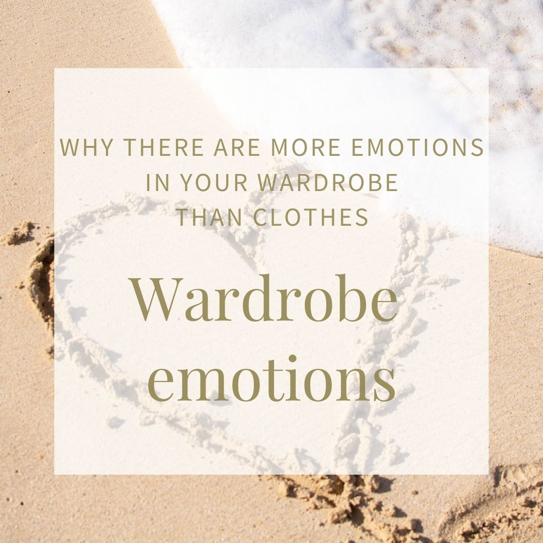 Emotional management Styling Tips Wardrobe emotions image of the sand with a heart scored into the wet sand and a wave on the sea shore