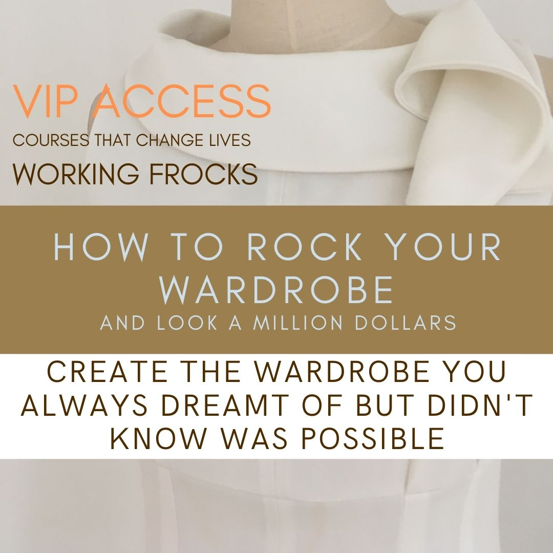 Rock your wardrobe Course – VIP