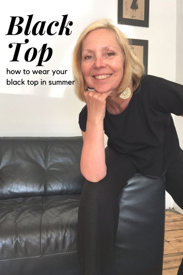 Black top black trousers - 5 ways to wear a black top in summer